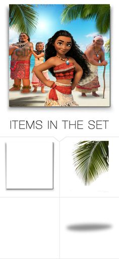 """""""Moana and her family ♥"""" by asia-12 ❤ liked on Polyvore featuring art"""