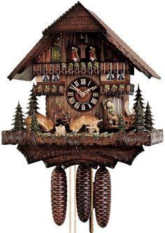 "Unusual Cuckoo Clocks hones 23"" 8 day chalet music 8638t cuckoo clock | cuckoo clocks"