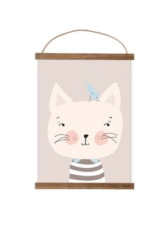 """Kunstdruck / Bild """"kleine Katze""""  von Mimirella auf DaWanda.com"""