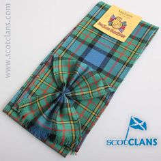 MacLaren Ancient Tartan Mini Sash. Free worldwide shipping available.