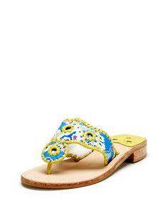 Paisley Navajo Sandal