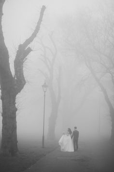A Misty London Wedding Shoot By Caro Hutchings Photography