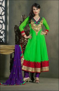Surbhi Jyoti Modeling Anarkali Suits  yes you are my