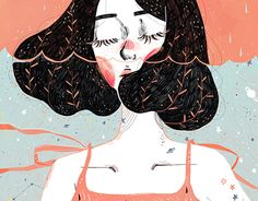 Illustration Girl Drowning in thoughts Illustrations of 2015 of Kathrin Honesta, Kuala Lumpur artist, on Behance Illustration GirlSource : Drowning in thoughts Illustrations of 2015 of Kathrin Honesta, Kuala Lumpur arti. by Pinspirationde Art And Illustration, Behance Illustration, Illustration Design Graphique, Illustrations And Posters, Landscape Illustration, Design Illustrations, Tattoo Illustrations, Painting Illustrations, Portrait Illustration