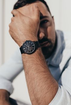 Swiss-made timepieces for YOU🇨🇭Online and in store #myzizzowatch #swissmade #unique #differentiate #blackwatch #forhim #watchoftheday