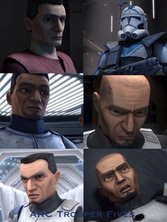 {SPOILERS}                                                  This is for Fives, an amazing character in Clone Wars. Before even the wisest Jedi Master in the Order, he discovered Palpatine's true identity and his plot. He was one of the first clones to declare himself, truthfully, a man, holding fast against all opposition. He was the first clone to die at the hands of his brother. This is for Fives.