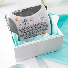 Our Label Maker with Translucent Case from the Container Store
