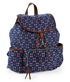 Aeropostale Triangles Backpack $30