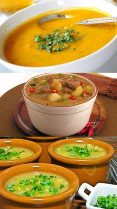 Soup Recipes, Keto Recipes, Healthy Recipes, Brazillian Food, Food Inspiration, Bacon, Pasta, Curry, Food And Drink