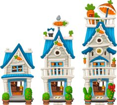 Farm House Sir Rabbits House Level 1to3