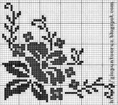 Cross Stitch Designs, Cross Stitch Patterns, Cross Stitching, Cross Stitch Embroidery, Crochet Designs, Crochet Patterns, Filet Crochet Charts, Graph Design, Christmas Cross