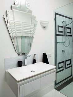Bathroom Modern Art Deco Interior Design, Pictures, Remodel, Decor and Ideas - page 17