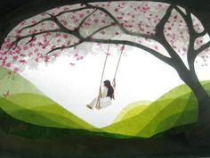 Spring swing von Art 4 Windows auf DaWanda.com