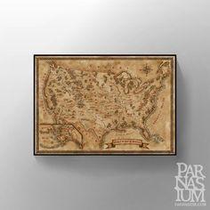 Fantasy Map of USA