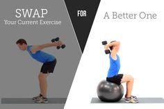 10 Upper-Body Exercise Swaps to Amp Up Results