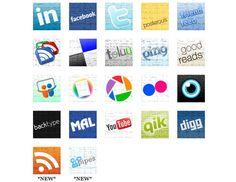 Free Social Media Icons | Webdesigner Depot
