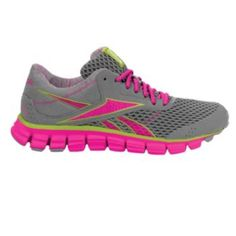 Reebok SmoothFlex 3 Pink Ribbon  Running Shoes - Women Reebok will donate a portion of the proceeds from the sale of this product to the Avon Foundation for Women for Breast Cancer.