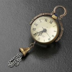 Chinese Brass Glass Pocket Watch Ball Clock,can Work,free Shipping