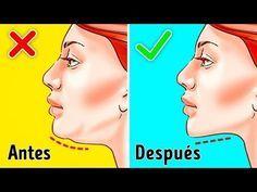 Si nadie te ha dicho nada, estos 3 ejercicios son excelentes para eliminar la papada! - YouTube