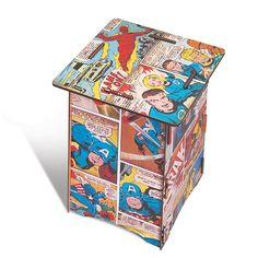 Banco Mesa Quadrinhos Marvel , um item super versátil que pode ser usado como…