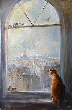 Юрий Степанов / Yuri Stepanov - У окна \ Near the window