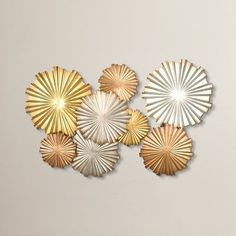 You'll love the Mixed Statement Circles Wall Décor at Wayfair - Great Deals on all Décor  products with Free Shipping on most stuff, even the big stuff.