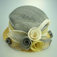 New Design Dress Sinamay Hats Church Hats