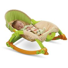 Fisher-Price - Newborn to Toddler Portable Rocker