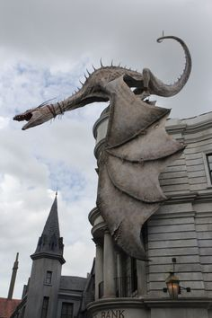 <b>***FAINTS FROM MAGICAL OVERLOAD***</b> The Wizarding World of Harry Potter: Diagon Alley at Universal Studios in Orlando, Fla., opens to the public on July 8.