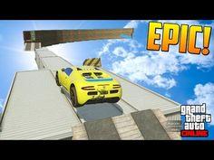 WALLRIDE SUPER RARO DE ARENA!!! - Gameplay GTA 5 Online Funny Moments (Carrera GTA V PS4) - YouTube