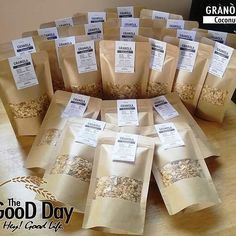 The GooD Day - Granola Packaging   Kraft Paper Packaging
