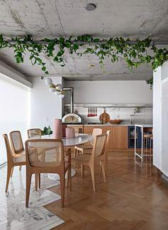 Kitch Design, Living Dining Room, Sweet Home, Kitchen Decor, Apartment Design, Dinner Room, Home Decor, Dinning Room Tables, Apartment Decor