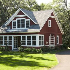 Red Hardie Board Siding Design, Pictures, Remodel, Decor and Ideas - page 2