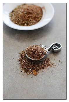All Purpose Mexican Seasoning  for use in tacos, fajitas, etc.  1/4 cup dried oregano  3 tablespoons dried chile powder  2 teaspoons cumin  2 teaspoons garlic powder  1 tablespoon onion powder  1 teaspoon salt  1 pinch ground cloves  1 pinch ground cinnamon
