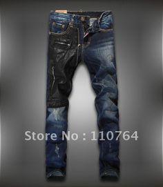 3d872c7e4ae Men's Jeans | Style Brand Men Jeans Pants Washed Slim Fashion Designer  Denim Jeans .