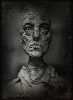 """de-salva: """" Alberto Giacometti - Untitled Photo by Eli Lotar """""""