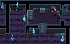 Survival-horror Game Mockup