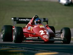 Patrick Tambay, Ferrari 126C3 - Ferrari Tipo 021 1.5 V6 (1983)