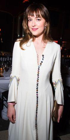 Dakota Johnson at a Vogue Party in Paris
