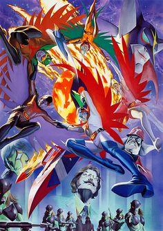 battle of the planets fiery phoenix - photo #46