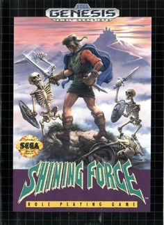 Shining Force - Get it for your iPhone if you don't have a Genesis laying around.