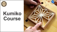 Kumiko Course. Learn the traditional Japanese craft of Kumiko. The course introduces you to Kumiko. Kumiko has origins in Japan and is used extensively in homes and home furnishings. The video segments guide you through the creation of a Kumiko panel. Plans, instructions (video) on how to create Guide Blocks are included. $39 Woodworking Ideas To Sell, Woodworking Courses, Woodworking Guide, Woodworking Books, Woodworking Skills, Shoji Screen, Shop Plans, Crafts To Sell, How To Introduce Yourself