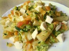 Ragù di Zucchine (rapidissimo!) Italian Pasta, Feta, Potato Salad, Potatoes, Cheese, Ethnic Recipes, Pine, Recipies, Potato