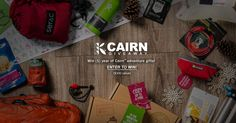 Win Cairn™ #adventure gift box deliveries for the entire year! http://swee.ps/oOUeVLRF #paddles