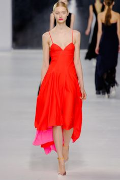 Christian Dior 2014 resort: bc all spaghetti straps are spectacular!