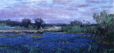 Julian Onderdonk  1922+Blue+Bonnets+at+Twilight+oil+on+canvas+35.9+x+76.5+cm.jpg (1079×505)