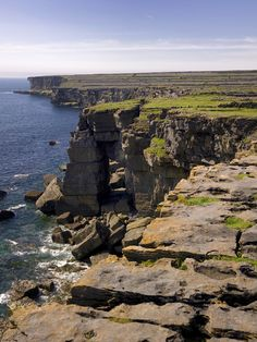 Dun Aengus, Inishmore, Aran Islands, County Galway, Ireland  ~by Dun Aengus