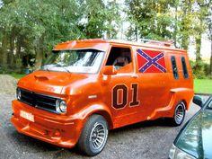 Customised Vans, Custom Vans, Bedford Van, 4x4 Camper Van, Old School Vans, General Lee, Day Van, Panel Truck, Cool Vans
