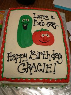 LOVE This too!     <3 veggie tales