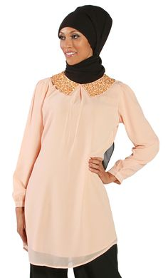 Redefine your casual kurti with this hand embroidered Kurti that dares to stand out. Subtle design yet embroidered collar that gives it the sparkle you need. Opts for easy layers with this fully lined yet modestly draped silhouette. Has a hi-lo style that is ready to wear or pair with any bottom.